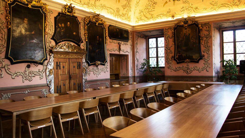 Barokní jídelna
