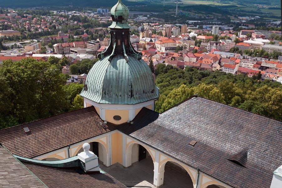Pohled na Plzeňskou kapli